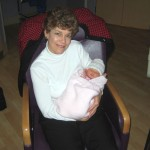 With proud Grandma